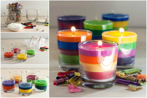 DIY-Crayon-Candles-Easily 4